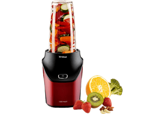 TRISA Nutri Blender Energy Boost - Mixer verticale (Nero/rosso)
