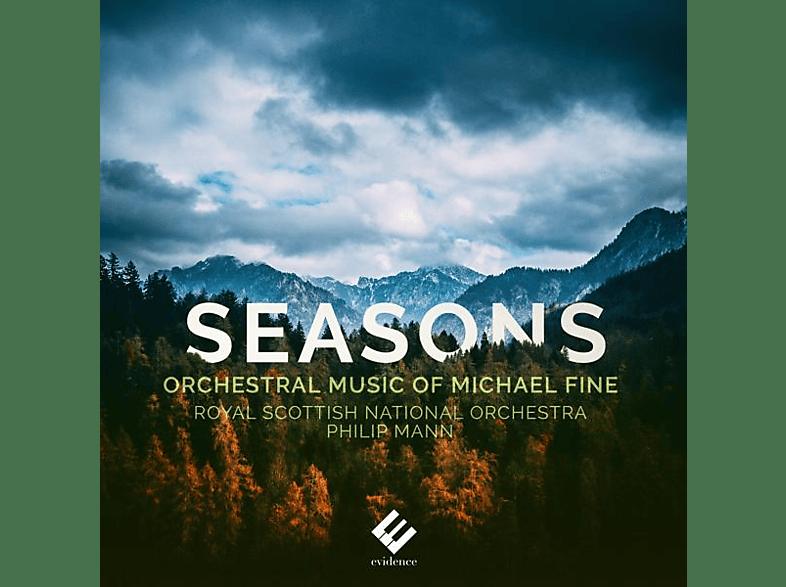 Royal Scottish National Orchestra, Igor Gruppman, Vesna Sefanovic-Gruppman - SEASONS ORCHESTRAL MUSIC OF MICHAEL [CD]