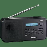 LENCO PDR-015 Digitalradio, DAB+, Schwarz