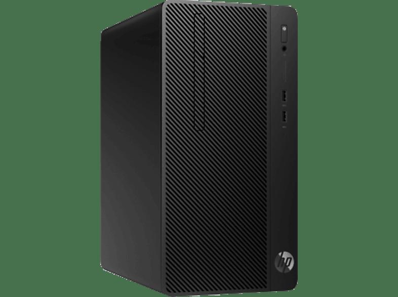 HP 285 G3, Desktop PC, Ryzen 3 Prozessor, 8 GB RAM, 1 TB HDD, Radeon™ Vega 8, Schwarz