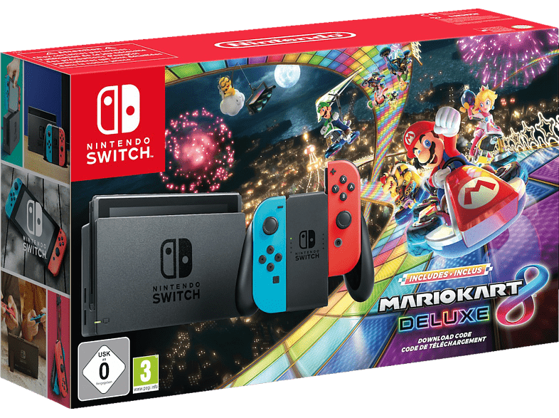 NINTENDO Switch Mario Kart 8 Deluxe Bundle