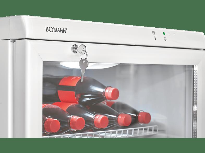 BOMANN KSG 239  Gewerbekühlschrank (-, 781 kWh/Jahr, 1730 mm hoch, Weiß)