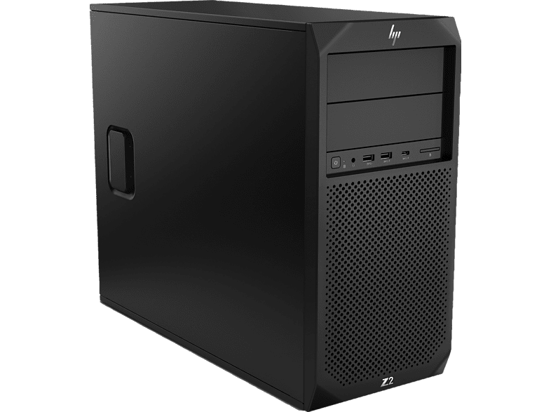 HP Z2 G4, Business PC, Core™ i7 Prozessor, 16 GB RAM, 512 GB SSD, Intel® UHD-Grafik 630, Schwarz