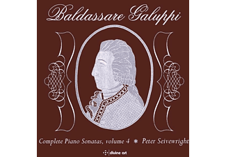 Peter/scottish Baroque Soloists Seivewright - Sämtliche Klaviersonaten,Vol.1 - (CD)