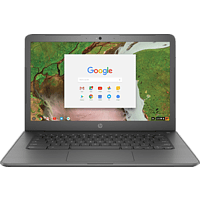 HP Chromebook 14 G5, Chromebook mit 14 Zoll Display, Celeron® Prozessor, 8 GB RAM, 32 GB eMMC, Intel® HD-Grafik 500, Schwarz
