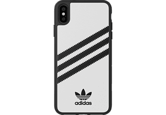 ADIDAS ORIGINAL Moulded Handyhülle, Apple iPhone XS Max, Weiß
