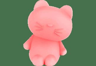 BIGBEN LUMIN'US CAT BLUETOOTH Bluetooth Lautsprecher, Weiß transparent