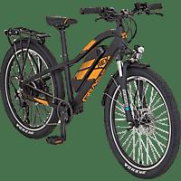 REX GRAVELER Kids Mountainbike (24 Zoll, MTB Hardtail, 374.5 Wh, Schwarz/Matt)