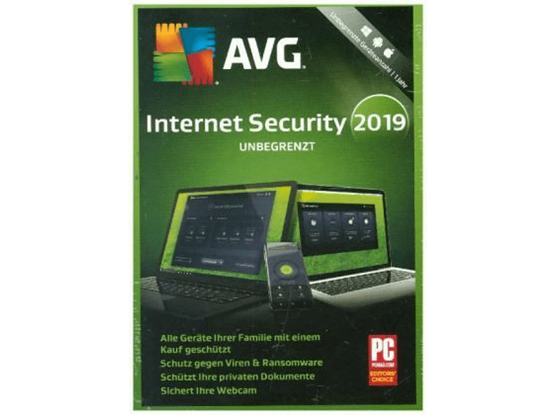 AVG Internet Security unbegrenzt 2019