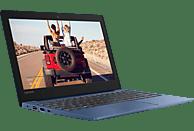 LENOVO IdeaPad S130, Notebook mit 11.6 Zoll Display, Celeron® Prozessor, 4 GB RAM, 64 GB eMMC, Intel® UHD-Grafik 600, Midnight Blue