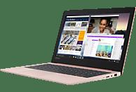 LENOVO IdeaPad S130, Notebook mit 11.6 Zoll Display, Celeron® Prozessor, 4 GB RAM, 64 GB eMMC, Intel® UHD-Grafik 600, Rose Pink