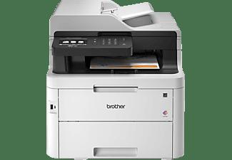 BROTHER Multifunktionsdrucker MFC-L3750CDW, Farblaser, weiß (MFCL3750CDWG2)