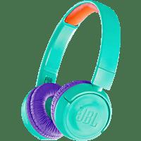 JBL JR 300, On-ear Kopfhörer Bluetooth Türkis/Lila