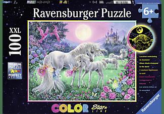 RAVENSBURGER Einhörner im Mondschein Puzzle Mehrfarbig