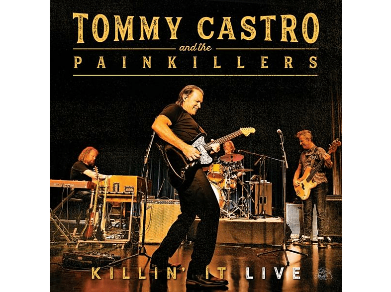 Tommy And The Painkillers Castro - Killin' It Live (180 Farbiges Vinyl) [Vinyl]