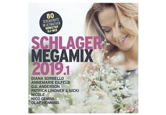 VARIOUS - Schlager Megamix 2019.1 - (CD)