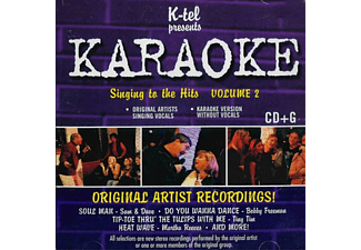 VARIOUS - Karaoke Singing To The Hits Vol.2 - (CD)