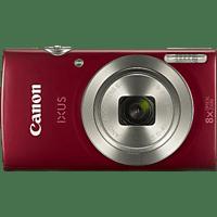 CANON Ixus 185 Digitalkamera Rot, 20 Megapixel, 8x opt. Zoom, LCD
