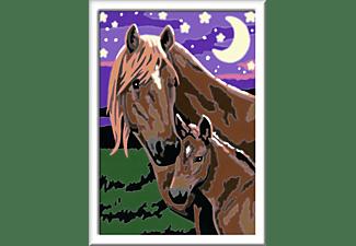 RAVENSBURGER Pferde Malen nach Zahlen