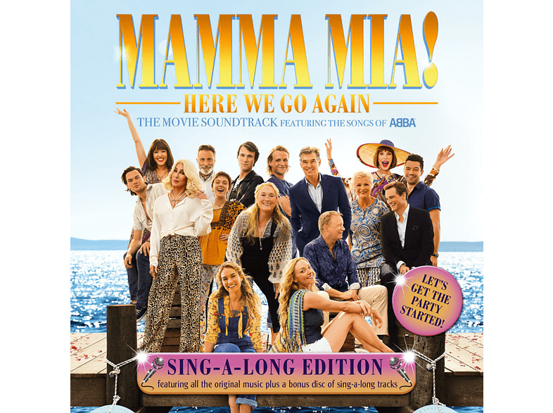 VARIOUS - Mamma Mia! Here We Go Again (Singalong Version) [CD]