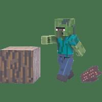 AMS Minecraft Sammelfigur Zombie Sammelfigur, Mehrfarbig