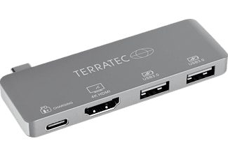 TERRATEC CONNECT C4, Adapter, Dunkelgrau