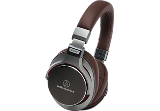 AUDIO-TECHNICA ATH-MSR7, Over-ear Kopfhörer, kabelgebunden, Braun