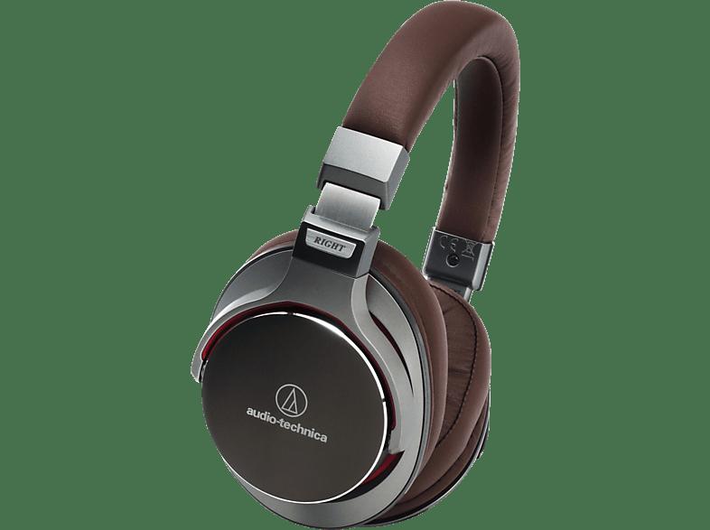 AUDIO-TECHNICA ATH-MSR7, Over-ear Kopfhörer  Braun