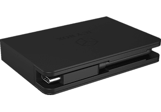 ICY BOX IB-DK4021-CPD Notebook Dockingstation, Schwarz