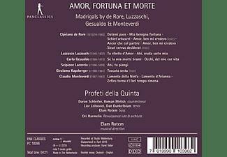 Elam/profeti Della Quinta Rotem - Amor,Fortuna et Morte-Madrigale  - (CD)