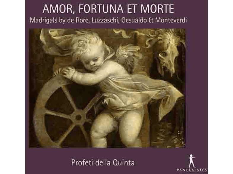 Elam/profeti Della Quinta Rotem - Amor,Fortuna et Morte-Madrigale [CD]