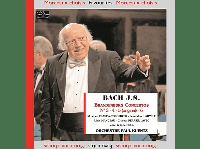 Labylle, Manceau, Orchestre Paul Kuentz - Brandenburgische Konzerte 3-6 [CD]
