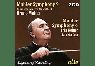 Della Casa/Walter/Columbia SO/Reiner/Chicago SO - Sinfonie 9, Sinfonie 4  - (CD)