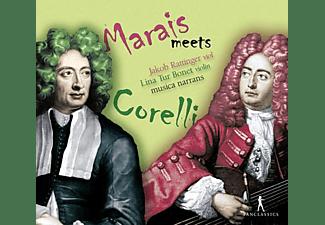 Rattinger/Tur Bonet/Ensemble Musica Narrans - Marais meets Corelli  - (CD)