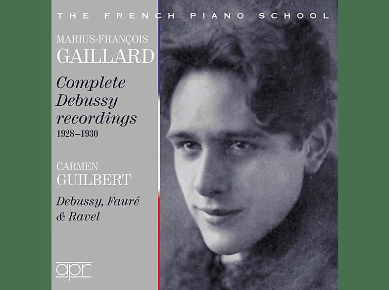 Gaillard,Marius-Francois/Guilbert,Carmen - Marius-Francois Gaillard & Carmen Guilbert spielen [CD]