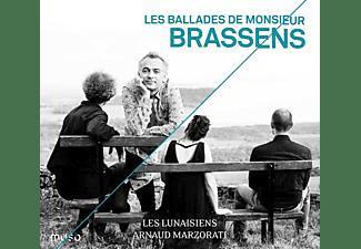 Arnaud Marzorati - Les Lunaisiens - Les Ballades de Monsieur Brassens  - (CD)