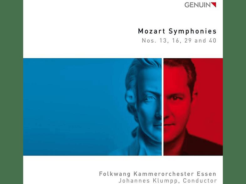Johannes/folkwang Kammerorchester Essen Klumpp - Sinfonien K 112,128,201/186a & 550 [CD]