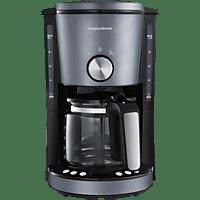 MORPHY RICHARDS Evoke Special Edition Kaffeemaschine Steel Blau