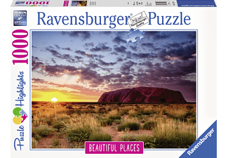 RAVENSBURGER Ayers Rock in Australien Puzzle, Mehrfarbig