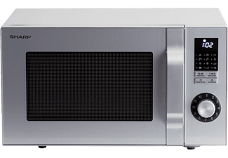 SHARP R644S - Microonde con grill (Argento)