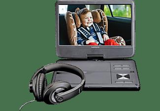 LENCO DVP-1010 DVD-Spieler mit Kopfhörer und Kopfstützenbefestigung