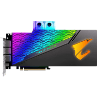 GIGABYTE GeForce RTX™ 2080 Aorus Xtreme Waterforce WB 8GB (GV-N2080Aorus X WB-8GC) (NVIDIA, Grafikkarte)