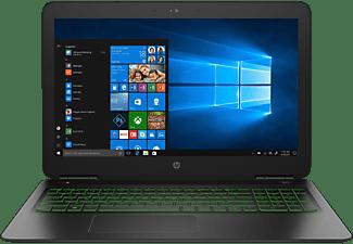 HP 15-dp0305ng, Gaming Notebook mit 15,6 Zoll Display, Core™ i5 Prozessor, 8 GB RAM, 1 TB HDD, 128 GB SSD, GeForce® GTX 1060, Schwarz/Grün