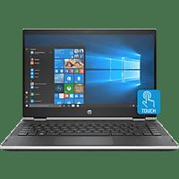HP 14-cd1301ng, Convertible mit 14 Zoll Display, Core™ i5 Prozessor, 8 GB RAM, 512 GB SSD, Intel® UHD-Grafik 620, Schwarz/Silber