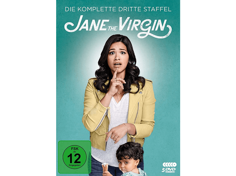 Jane the Virgin - Staffel 3 [DVD]