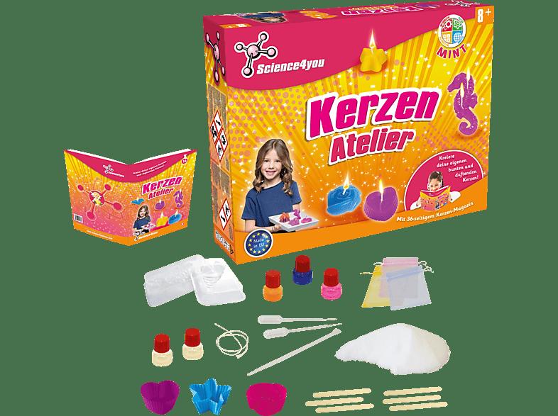 SCIENCE4YOU Kerzen Atelier Experimentierkasten, Mehrfarbig