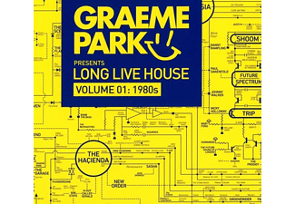 Graeme Park - Graeme Park Pres. Long Live House Vol.1:1980s - (CD)