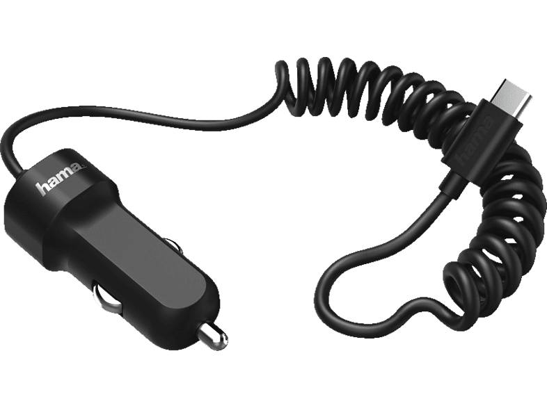 HAMA Essential Line Kfz-Ladegerät, Schwarz