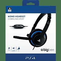 BIGBEN PS4 COMMUNICATOR (OFFIZIELL LIZENZIERT) Gaming Headset, Schwarz