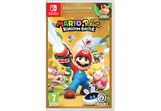 Switch - Mario + The Lapins Crétins : Kingdom Battle - Édition Gold /Multilingue